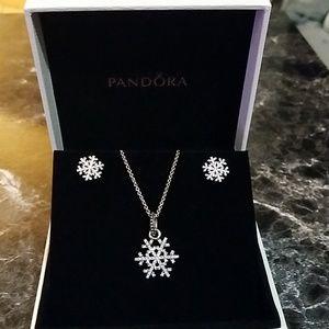 Winter Snowflake gift set